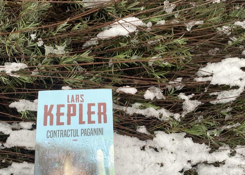 Contractul Paganini Book review Lars Kepler