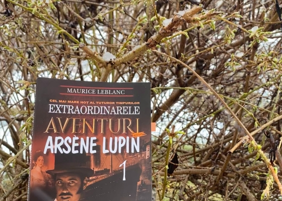 Arsene Lupin Book review Maurice Leblanc